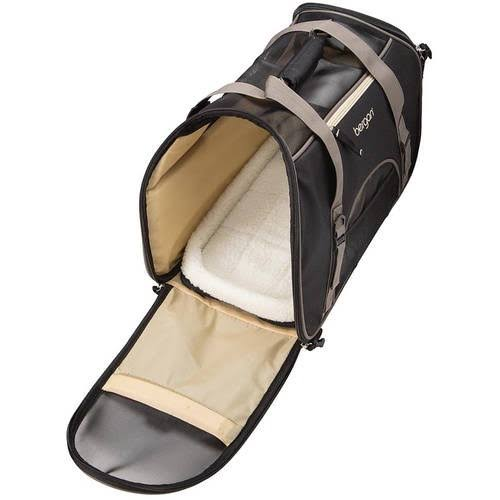 Bergan Comfort Pet Carrier - Black, Brown, Large