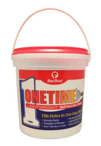 Red Devil Onetime Lightweight Spackling - White