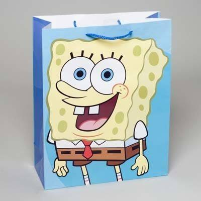 DD X-Large SpongeBob Square Pants Gift Bag (Pack of 72) DDI2285340