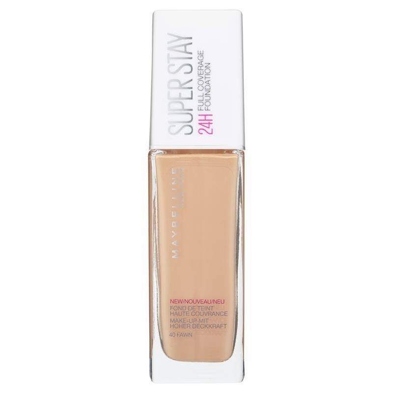 Maybelline Superstay 24h Foundation - 40 Fawn, 30ml