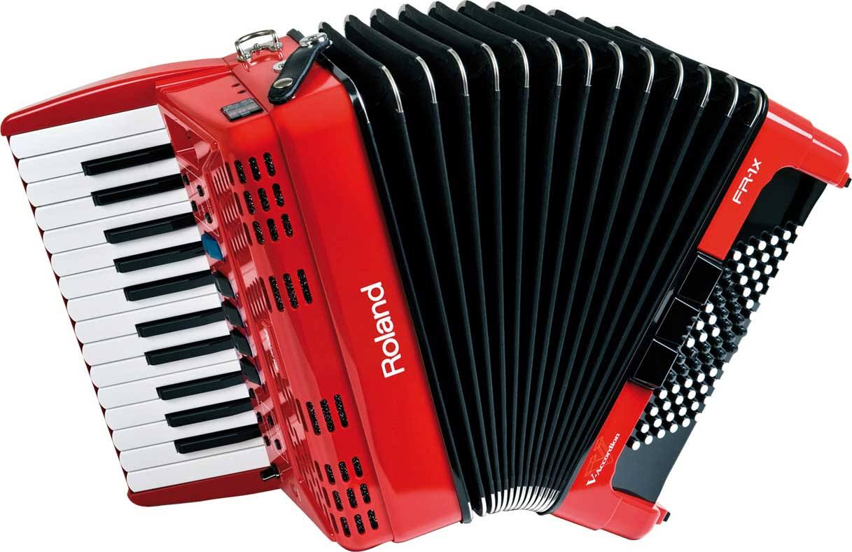 Roland Fr-1x V-Accordion Red