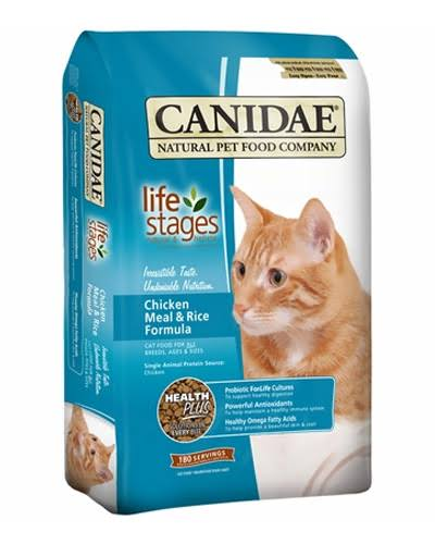 Canidae Pet Foods All Life Stages Chicken Meal and Rice Natural Cat Food - 8lb