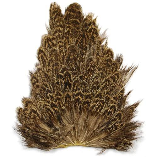 Wapsi Soft Hackle Hen Saddle Patch - Olive