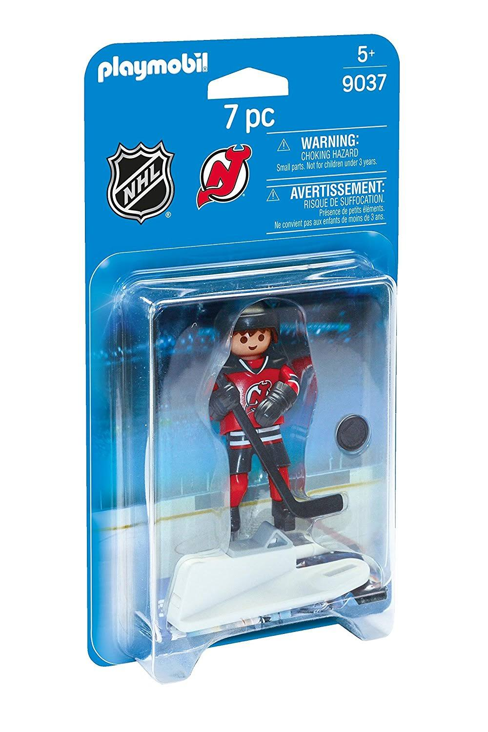 Playmobil NHL New Jersey Devils Player Set