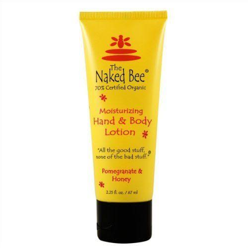 The Naked Bee - Pomegranate & Honey Hand & Body Lotion 2.25 oz.