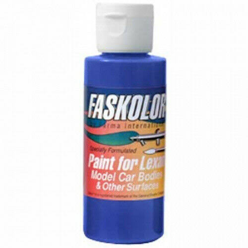 Parma Par40004 Faskolor Airbrush Paint - Fasblue, 2oz