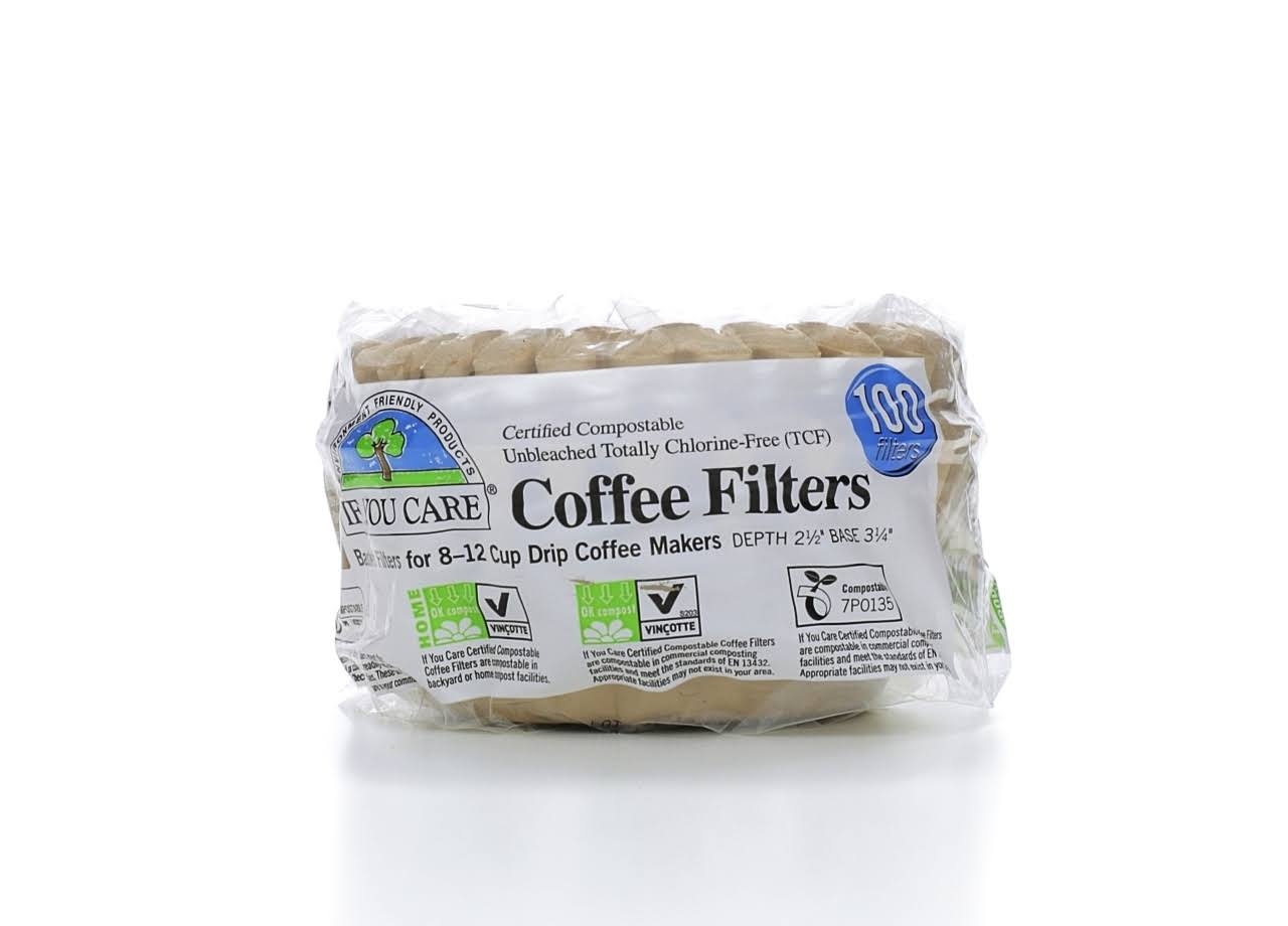 If You Care Basket Coffee Filters - 100 Filters