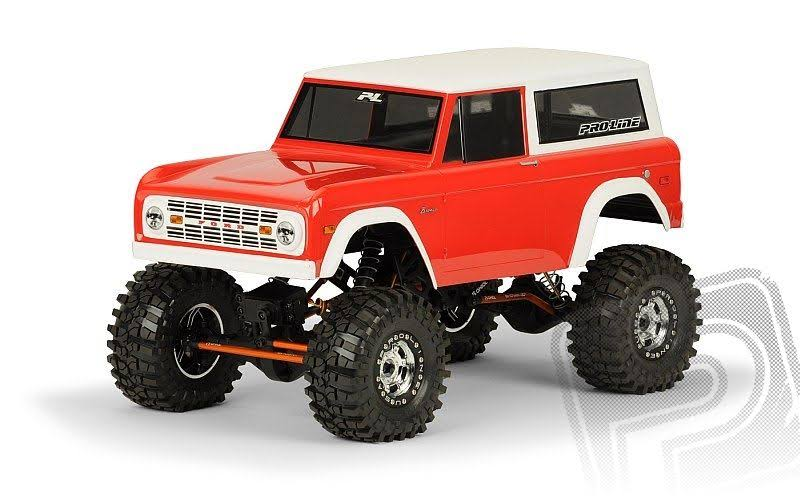 Pro-Line Racing 331360 1973 Ford Bronco Body for 1:10 Rock Crawler
