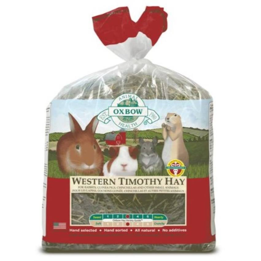 Oxbow Animal Health Western Timothy Hay for Pets - 9lb