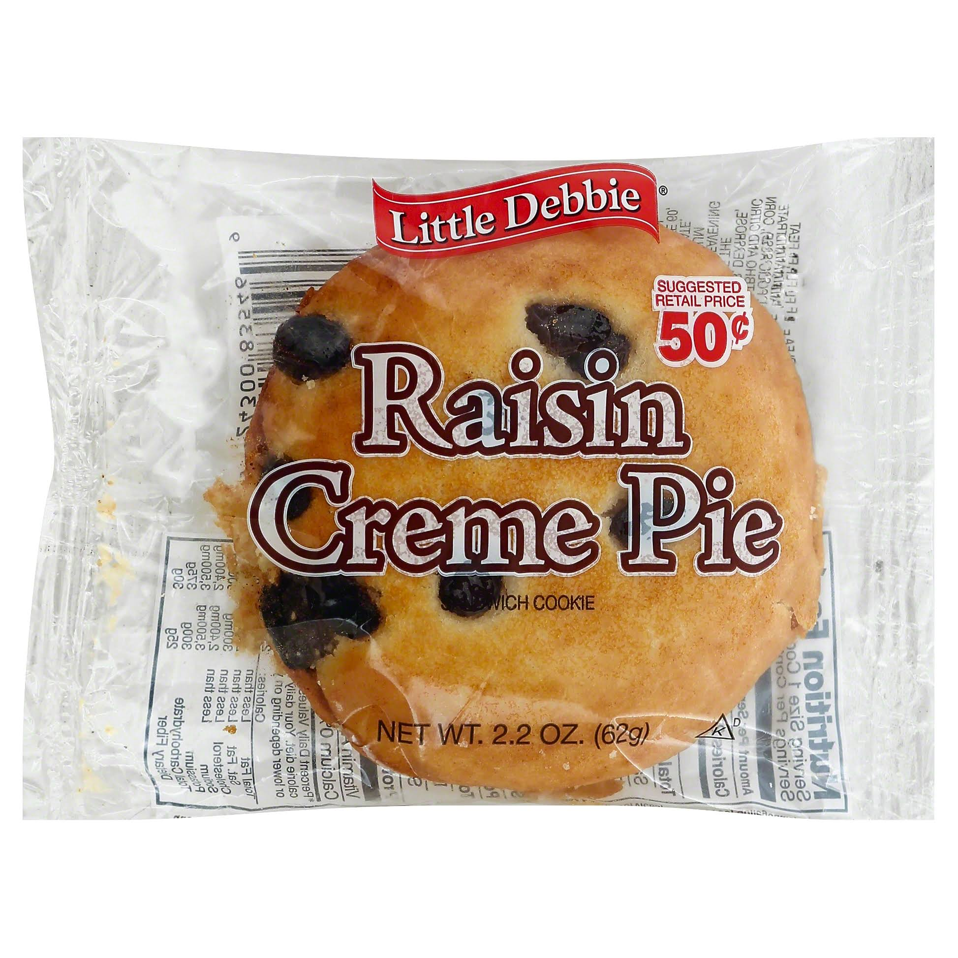Little Debbie Raisin Cream Pie - 2.2oz