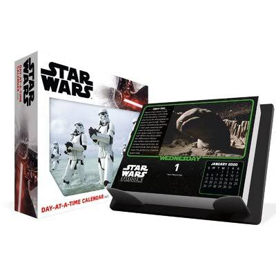 Trends International 2020 Star Wars Day-at-a-Time Box Box Calendar