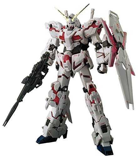 Bandai RX-0 Unicorn Gundam RG Gundam Model Kit Figure