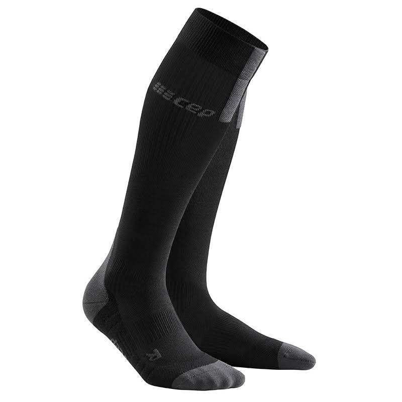 CEP Run Socks 3.0 Men Black/Dark Grey