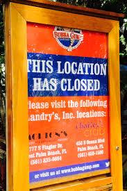 Bathtub Beach Stuart Fl Closed by Bubba Gump Restaurant Closes On Jupiter U0027s Waterfront Northern