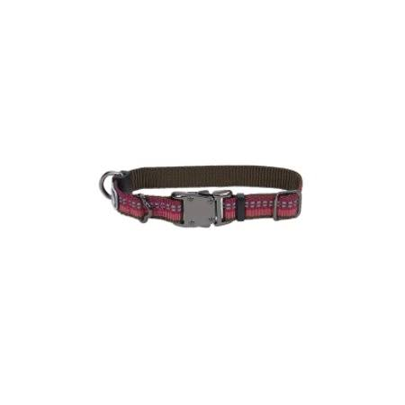 Coastal K9 Explorer Reflective Safety Collar - Berry