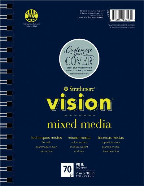 Strathmore Vision Mixed Media Pad - 7in x 10in