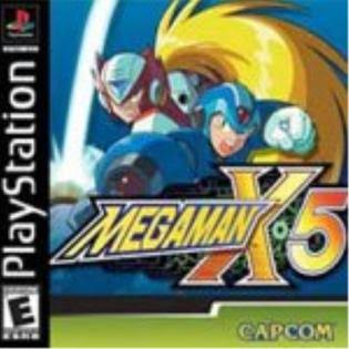 Mega Man X5 - Sony Playstation 1