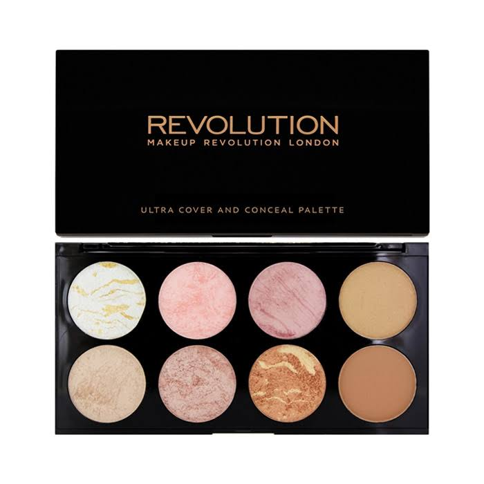 Makeup Revolution London Ultra Cover & Conceal Palette - Golden Sugar