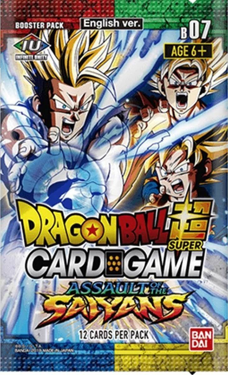 Dragon Ball Super Card Game: Assault of The Saiyans Booster Pack
