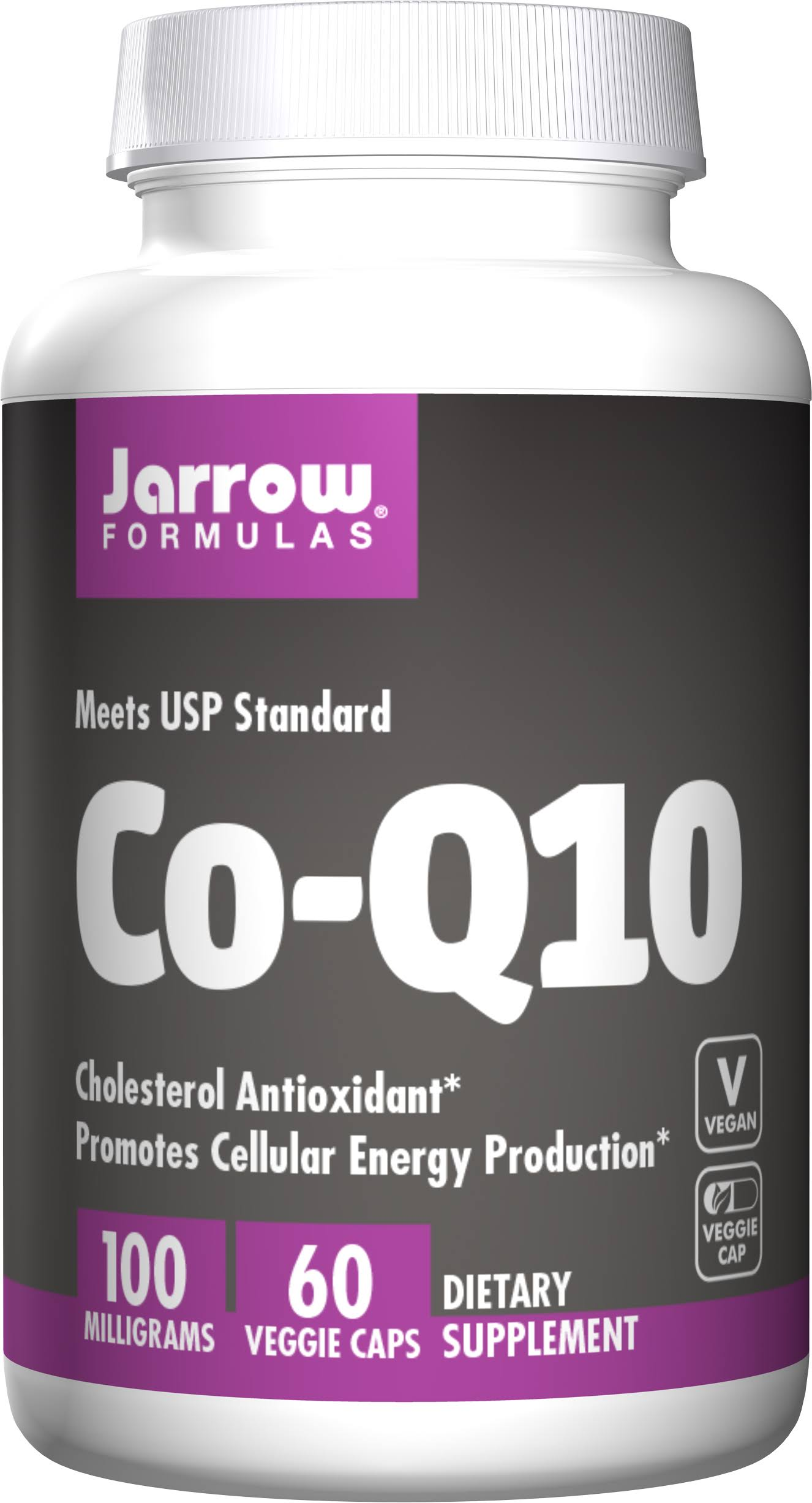 Jarrow Formulas Co-q10 Supplement - 100mg, 60 Capsules