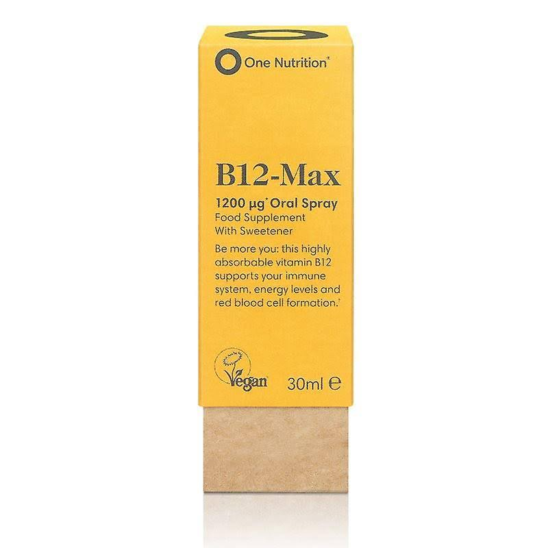 One Nutrition B12 Max Spray 30ml