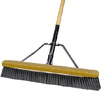 Quickie Manufacturing Stiff Poly Pushbroom - 24""