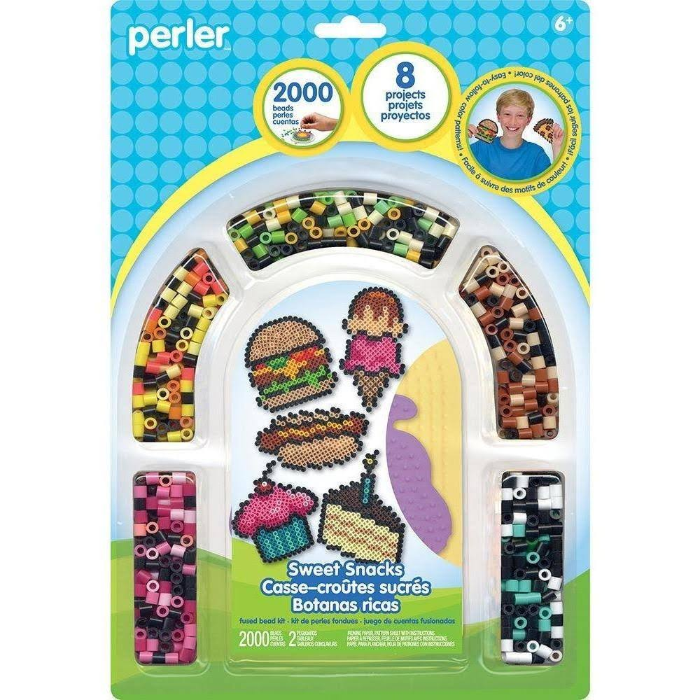 Perler Fused Bead Kit - Sweet Snacks