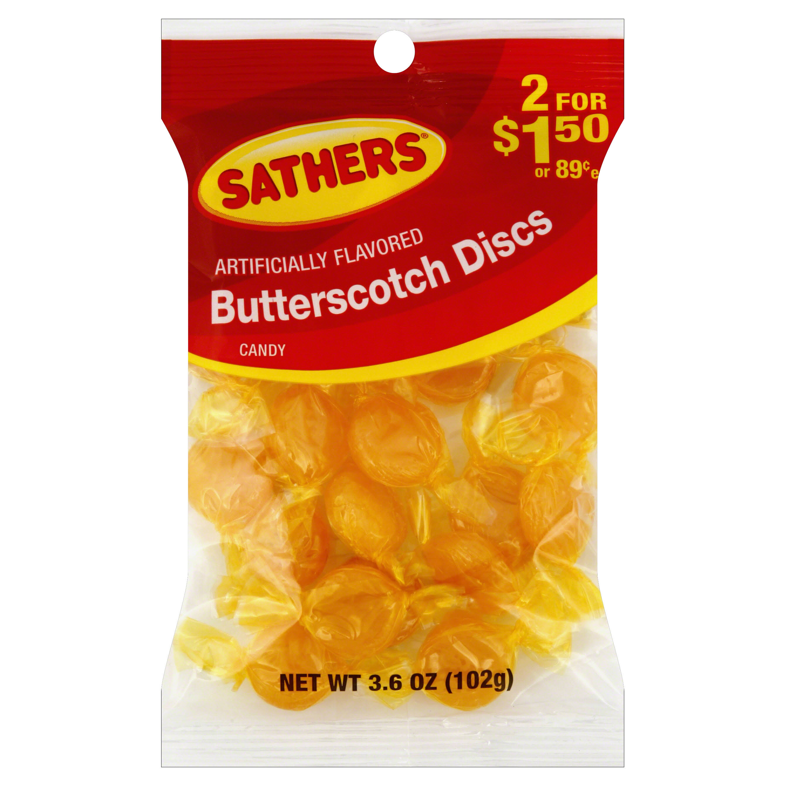 Farley's & Sathe Butterscotch Discs Candy - 102g
