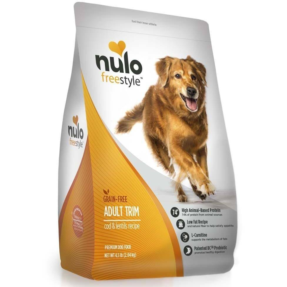 Nulo Inc. Freestyle Dog Grain Free Trim Weight Management Cod