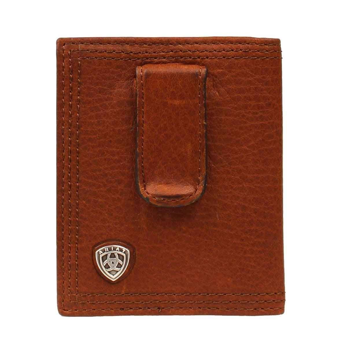 Ariat bFold / Clip Shield SM Wallet, Men's, Brown