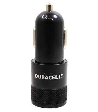 Duracell Dual USB 2.1 Amp Car Charger - Black (LE2169)