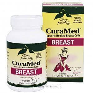 Terry Naturally Euro Pharma Curamed Breast Vitamins - 60 Softgels