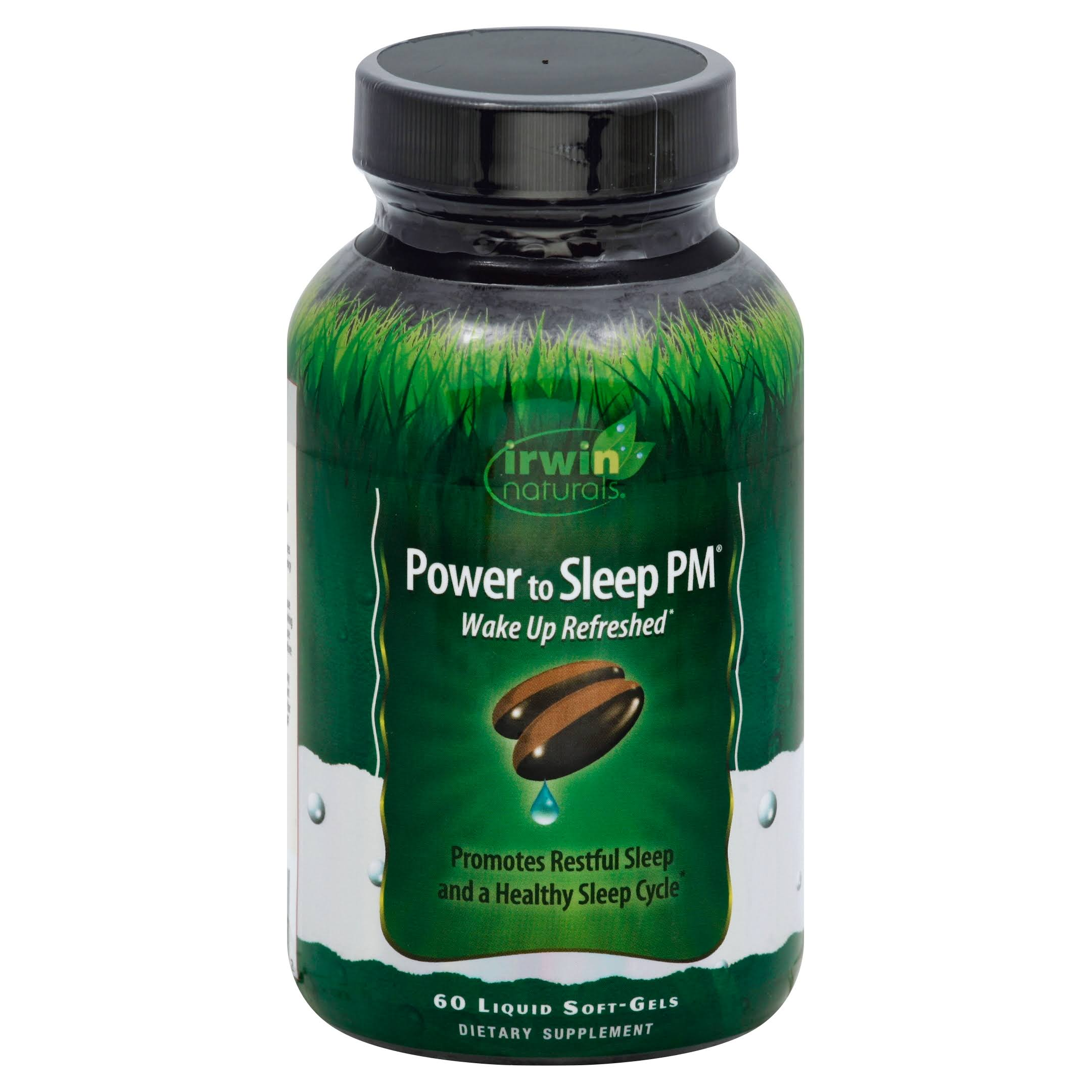 Irwin Naturals Power to Sleep PM - 60 softgels