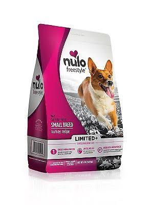 Nulo Freestyle Limited Ingredient Grain Free Dry Dog Food, Small Breed Turkey / 4 lb