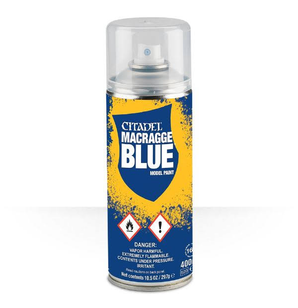 Citadel Spray Paint - Macragge Blue, 400ml