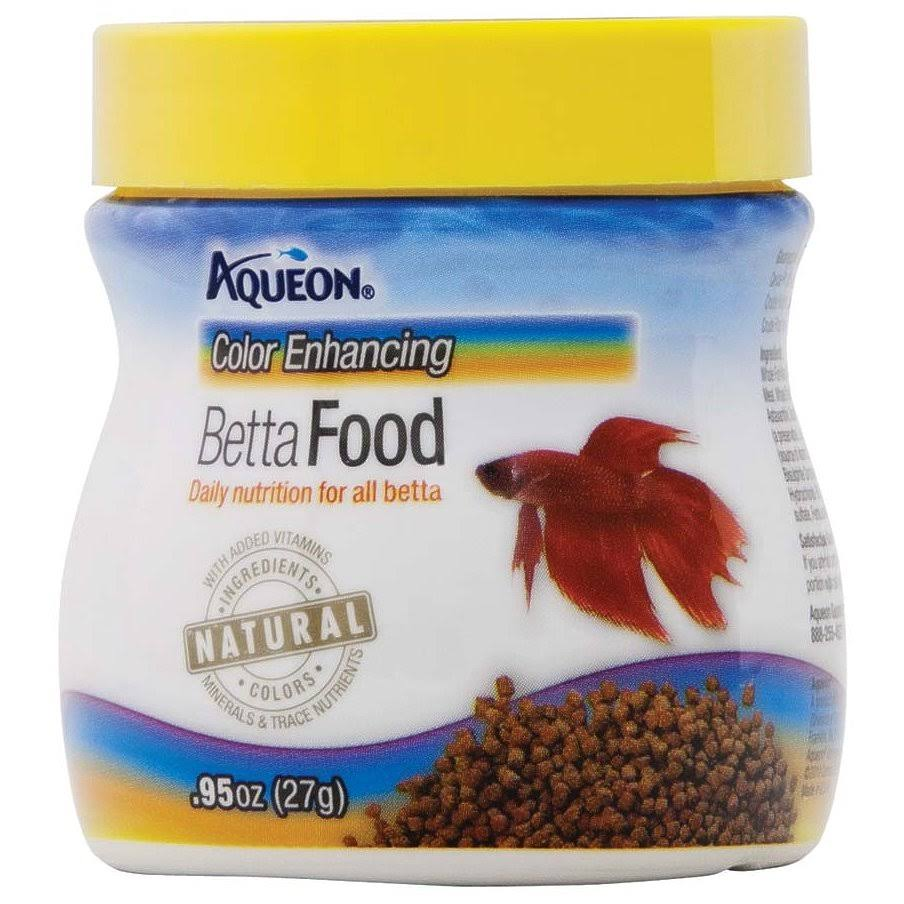 Aqueon Betta Food - 27g