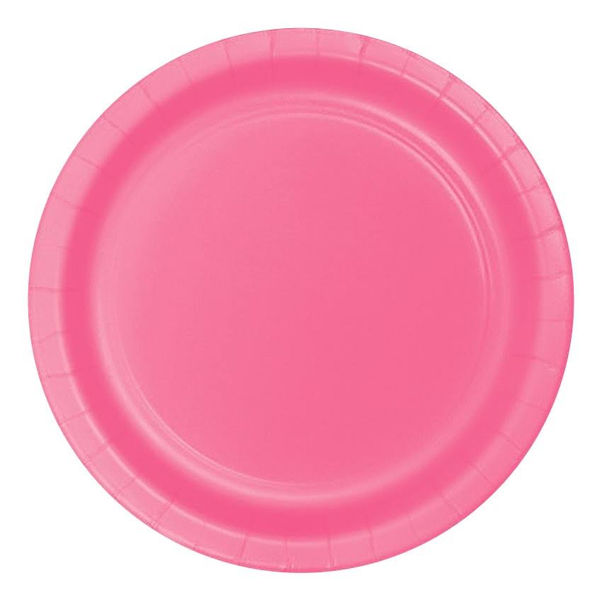 Creative Converting Dinner Plate - Candy Pink