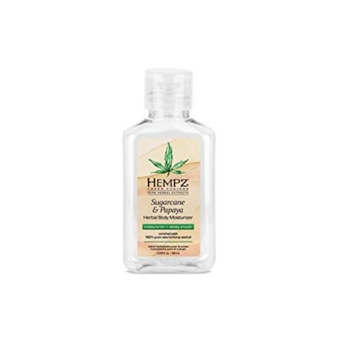 Hempz Herbal Body Moisturizer - Sugarcane & Papaya, 2.25oz
