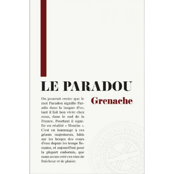 Le Paradou Grenache, France (Vintage Varies) - 750 ml bottle