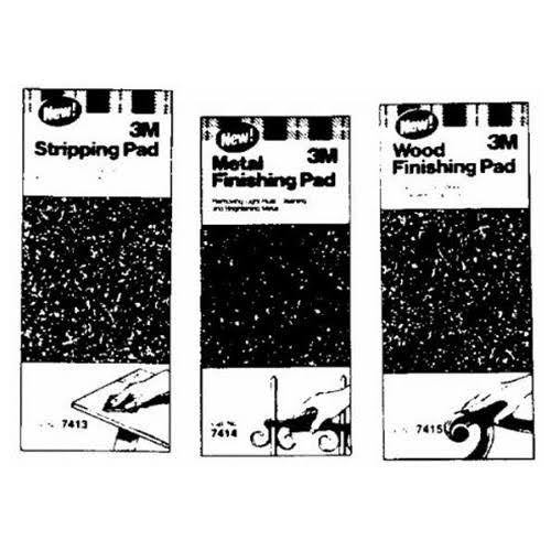 3M Paint & Varnish Stripping Pad - 11.1cm x27.9cm