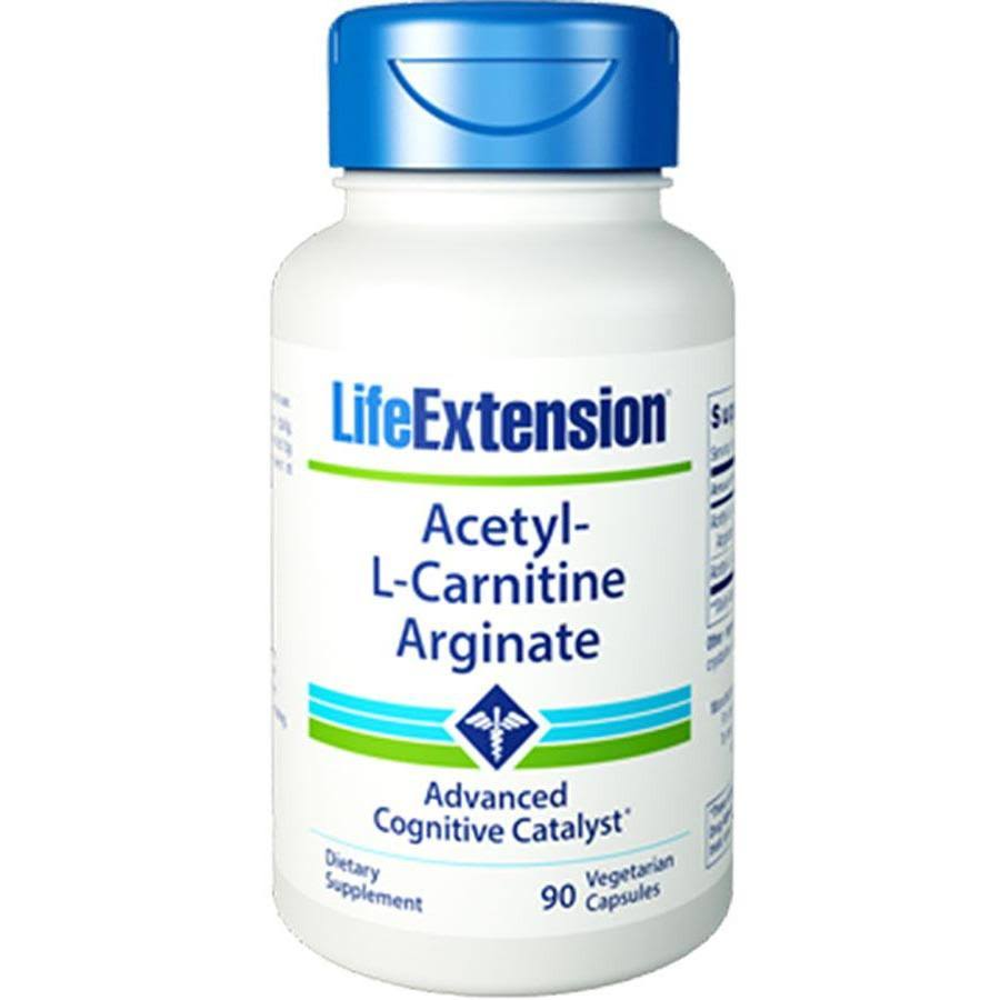Life Extension Acetyl-L-Carnitine Arginate - 90 Capsules