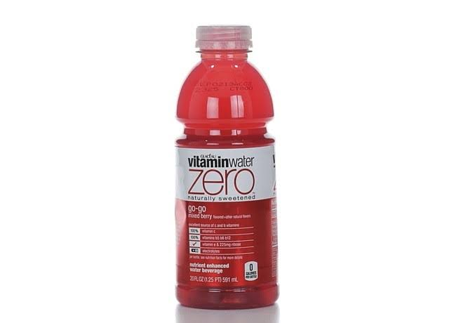 Vitamin Water Zero Go-Go, Mixed Berry - 20 fl oz