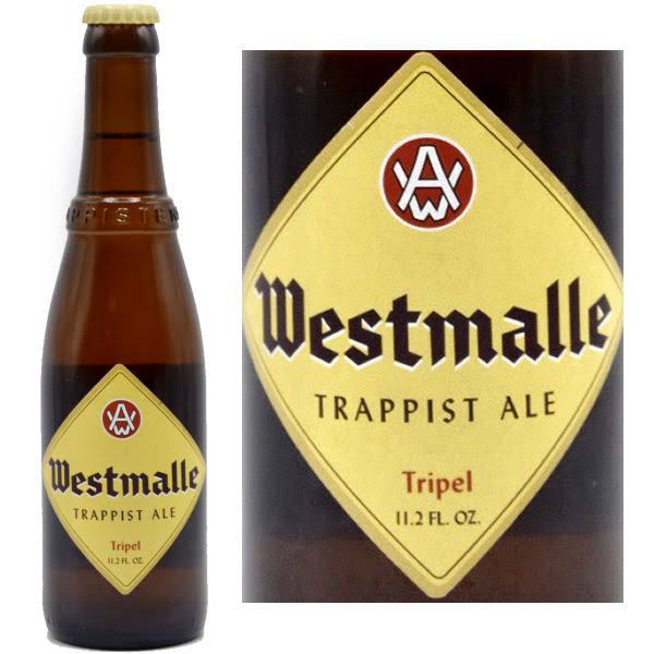 Westmalle Tripel Trappist Ale - 11.2 fl oz bottle