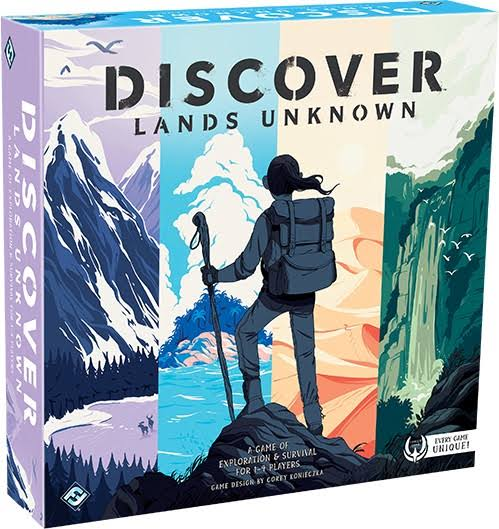 Discover: Lands Unknown Game