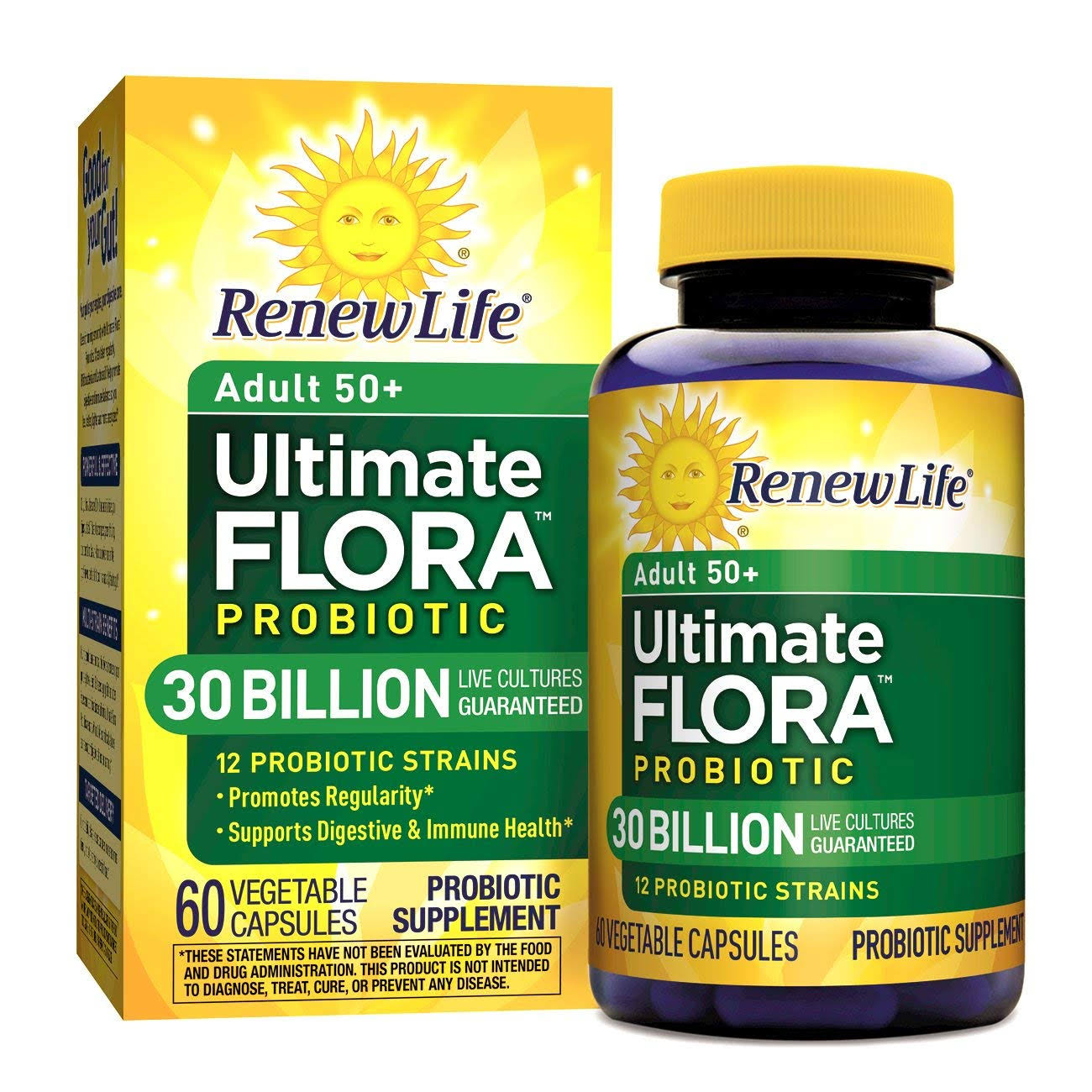 Renew Life Ultimate Flora Senior Formula - 60 Vegetable Capsules