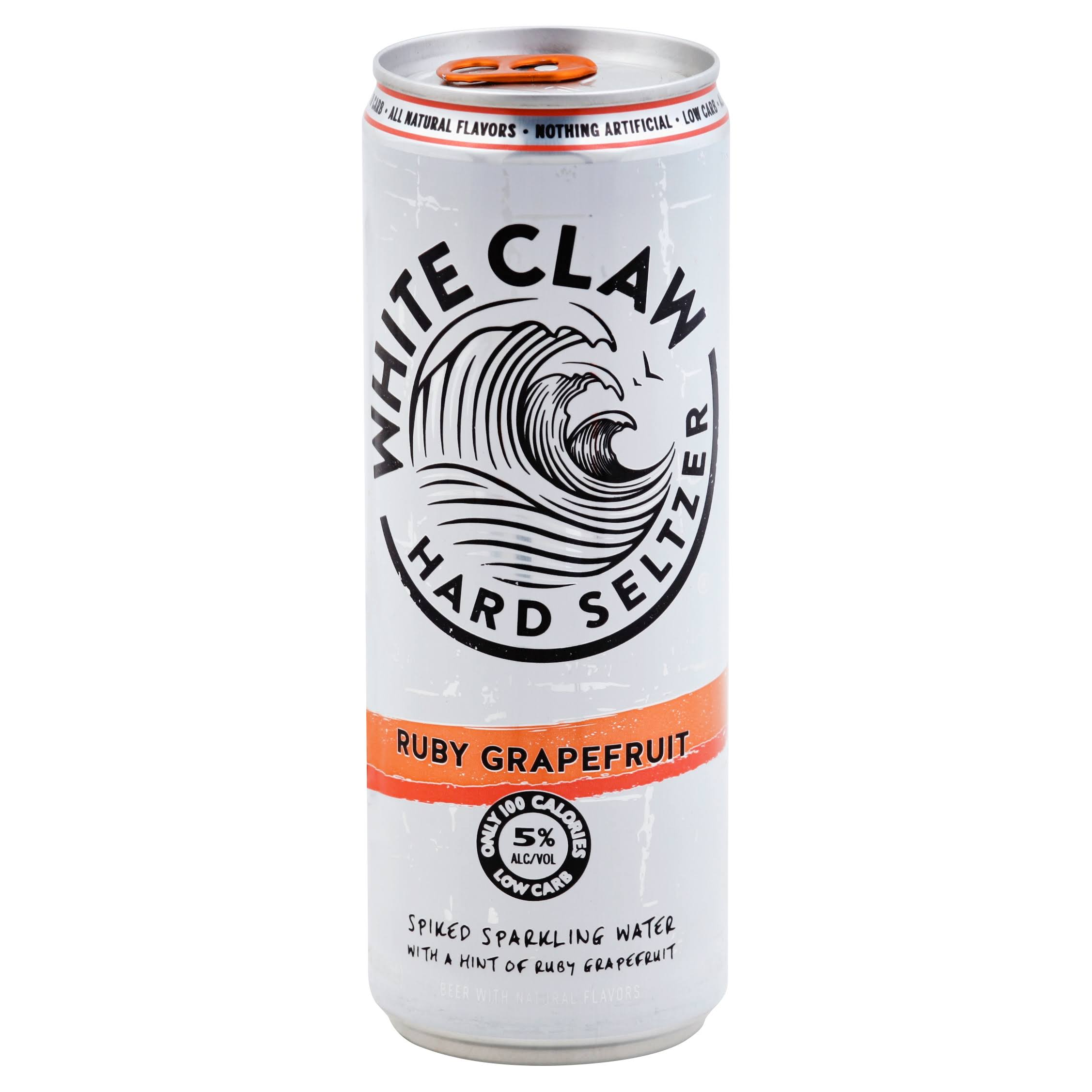 White Claw Hard Seltzer, Ruby Grapefruit - 12 fl oz