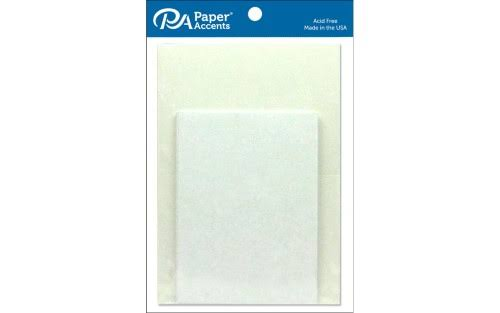 Paper Accents Card & Env 5x7 10pc White