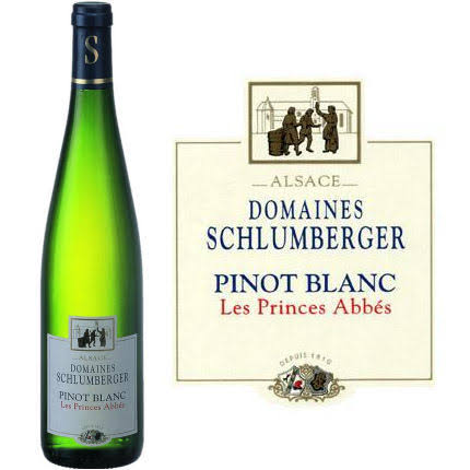 Domaines Schlumberger Les Princes Abbes Pinot Blanc, France (Vintage Varies) - 750 ml bottle