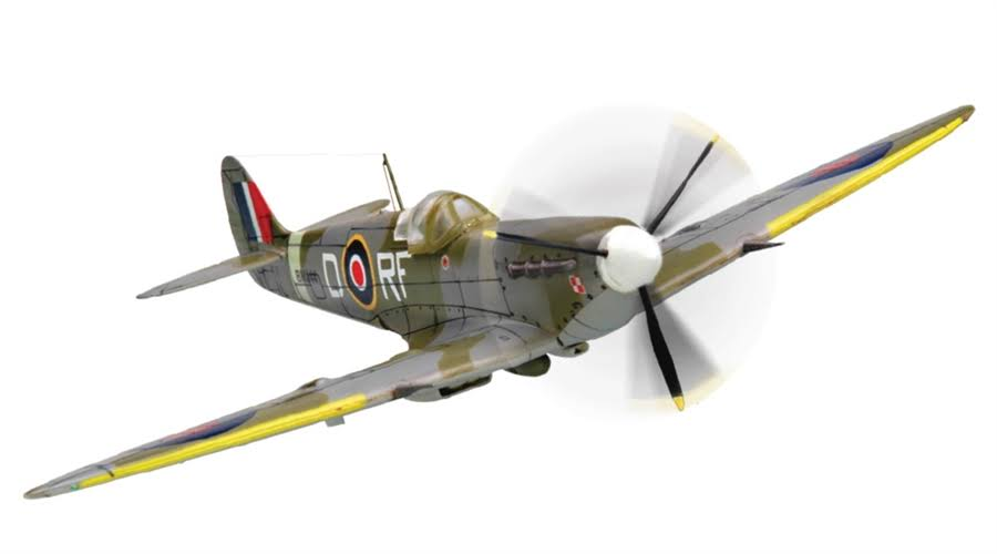 Squadron Products Spitfire Mk Vb Pre-Painted Model Kit