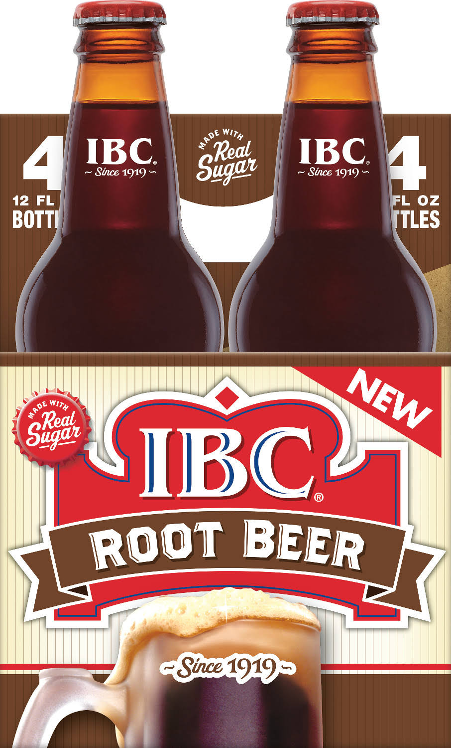 IBC Root Beer - 12oz, 4pk
